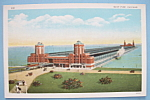 Click to view larger image of 1933 Century Of Progress Navy Pier Postcard (Image1)