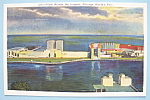 1933 Century Of Progress Across the Lagoon Postcard