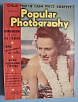 Popular Photography Magazine - April 1939