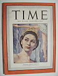 Click here to enlarge image and see more about item 7293: Time Magazine - November 14, 1949 - Margot Fonteyn