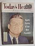 Click here to enlarge image and see more about item 7343: Today's Health Magazine - February 1961 - John Kennedy