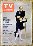 TV Guide-February 1-7, 1964-Danny Kaye & Laurie Ichino