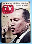TV Guide-August 22-28, 1964-E. G. Marshall Of Defenders