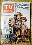 TV Guide - August 22-28, 1970 - Gunsmoke Gang