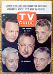 Click to view larger image of TV Guide-July 11-17, 1964-The Anchor Men (Image1)