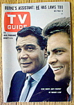 TV Guide-August 8-14, 1964-Burke's Law