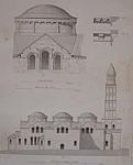 Eglise De St. Front A Perigueux  (1852 Lithograph)