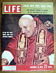 Click to view larger image of Life Magazine - November 10, 1958 - Pope John XXIII (Image1)