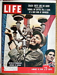 Click to view larger image of Life Magazine January 19, 1959 Castro (Image1)