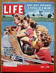 Life Magazine June 1, 1959 Kansas Family