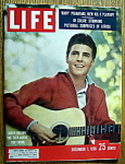 Click to view larger image of Life Magazine - December 1, 1958  - Ricky Nelson (Image1)