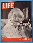 Click to view larger image of Life Magazine-April 12, 1937-Centenarian (Image1)