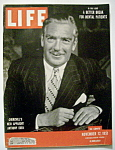 Click here to enlarge image and see more about item 7837: Life Magazine - November 12, 1951 - Anthony Eden