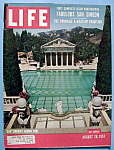 Click here to enlarge image and see more about item 7843: Life Magazine - August 26, 1957 - San Simeon's Pool