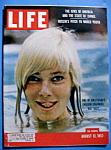 Click here to enlarge image and see more about item 7845: Life Magazine - August 12, 1957 - May Britt