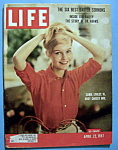 Click to view larger image of Life Magazine-April 22, 1957-Carol Lynley (Image1)