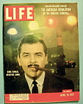 Click here to enlarge image and see more about item 7860: Life Magazine - April 15, 1957 - Ernie Kovacs