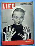 Click to view larger image of Life Magazine - February 25, 1952 - News In Gloves (Image1)