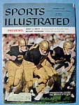 Click here to enlarge image and see more about item 7889: Sports Illustrated - November 24, 1958 - Army vs. Navy