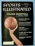 Click here to enlarge image and see more about item 7890: Sports Illustrated - December 8, 1958 - College B-Ball