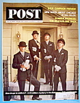 Click here to enlarge image and see more about item 7936: August 8-15, 1964 Saturday Evening Post - The Beatles