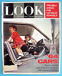 Click here to enlarge image and see more about item 7941: Look Magazine October 22, 1963 '64 Cars