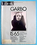 Click here to enlarge image and see more about item 7947: Look Magazine September 8, 1970 Garbo Is 65