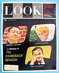 Click here to enlarge image and see more about item 7953: Look Magazine October 9, 1962 TV's Comeback Season