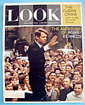 Click here to enlarge image and see more about item 7961: Look Magazine - August 25, 1964 - Bobby Kennedy