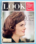 Click here to enlarge image and see more about item 7963: Look Magazine - January 28, 1964 - Jacqueline