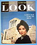 Look Magazine-July 8, 1958-Elizabeth Taylor