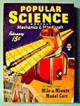 Click here to enlarge image and see more about item 8004: Popular Science Magazine - February 1940