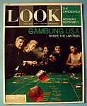Click here to enlarge image and see more about item 8020: Look Magazine - October 20, 1964 - Gambling