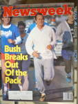 Click to view larger image of Newsweek Magazine-February 4, 1980-Bush Breaks Out (Image1)