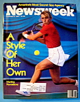 Newsweek Magazine-September 6, 1982-M. Navratilova