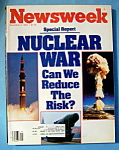Click here to enlarge image and see more about item 8083: Newsweek Magazine - December 5, 1983 - Nuclear War