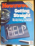 Click to view larger image of Newsweek Magazine-June 4, 1984-Getting Straight (Image1)