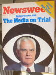Newsweek Magazine-October 22, 1984-Media On Trial
