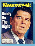 Newsweek Magazine March 24, 1975 Ronald Reagan