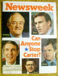 Newsweek Magazine-May 31, 1976-Can Anyone Stop Carter
