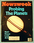 Newsweek Magazine - September 10, 1979 - Probing Planet