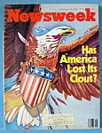 Newsweek Magazine - November 26, 1979 - Clout