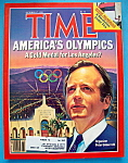 Time Magazine-October 17, 1983-America's Olympics