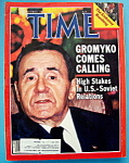 Time Magazine-October 1, 1984-Gromyko Comes Calling