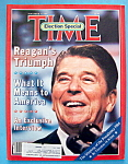 Time Magazine - November 19, 1984 - Reagan's Triumph