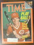 Time Magazine-August 19, 1985-Pete Rose
