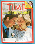 Time Magazine-November 11, 1985-Charles & Diana