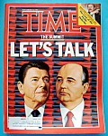 Time Magazine-November 18, 1985-The Summit