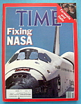 Click here to enlarge image and see more about item 8375: Time Magazine  - June 9, 1986 - Fixing NASA