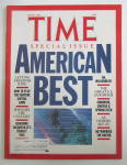 Click here to enlarge image and see more about item 8376: Time Magazine  - June 16, 1986 - American Best